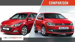 Download Hyundai Elite i20 Vs VW Polo | Comparison Story | CarDekho Video