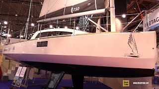 Download 2016 Ikone 7.5 Sailing Yacht - Walkaround - 2015 Salon Nautique de Paris Video