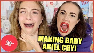 Download MAKING BABY ARIEL CRY! Video