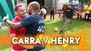Download Henry v Carragher | 10 Ball Crossbar Challenge! Video