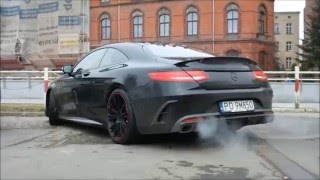Download Brabus 850 6.0 Biturbo Coupe start up and acceleration in Wrocław Video