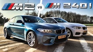 Download BMW M2 vs M240i Autobahn POV Test Drive Top Speed by AutoTopNL Video