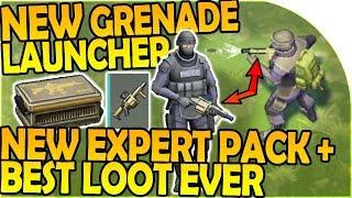 Download NEW MILKOR MGL GRENADE LAUNCHER, NEW Expert Pack BEST LOOT- Last Day On Earth Survival 1.6.10 Update Video