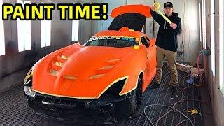 Download Rebuilding A Wrecked 2014 Dodge Viper TA ″TIME ATTACK″ PART 15 Video