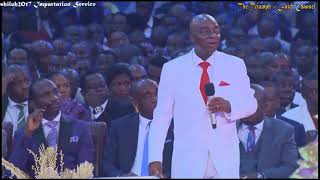 Download Bishop Oyedepo Ministration@ Shiloh Impartation Service, December 09, 2017 Video