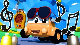 Download Tom The Tow Truck's Paint Shop: Charlie the Crane is Pocoyo   Truck cartoons for kids Pocoyo YouTube Video