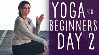 Download Yoga For Beginners 30 Day Challenge Day 2 With Fightmaster Yoga Video