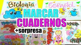 Download Como marcar tus cuadernos para el colegio ✏ REGRESO A CLASES ✏ 100prekool Ft Sara Luna Video