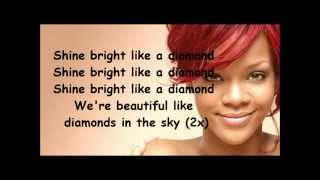 Download Rihanna Diamonds lyrics Video