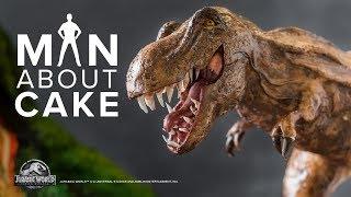 Download Epic Dinosaur Cake for JURASSIC WORLD: FALLEN KINGDOM Premiere | Man About Cake Video