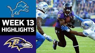 Download Lions vs. Ravens   NFL Week 13 Game Highlights Video