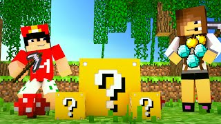 Download Minecraft: LUCKY GAMES - LUCKY BLOCK COM TIMES!#1 Video