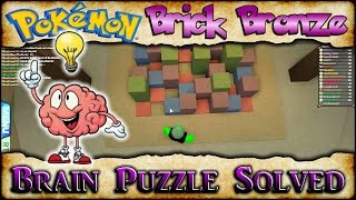 Download Brain Puzzle Solved! | POKEMON BRICK BRONZE Video
