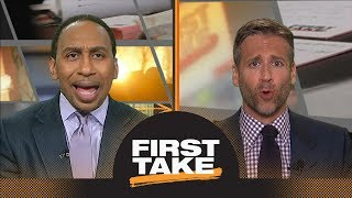 Download Stephen A.: Damian Lillard willing to leave Trail Blazers for Lakers or Knicks | First Take | ESPN Video