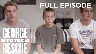 Download Astonishing Home Renovation for Three Boys Sharing Cramped Basement | George to the Rescue Video