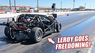 Download Leroy Version 2.5 is INSANELY FAST! Can The New Bald Eagles Run a SEVEN Second Pass? Video
