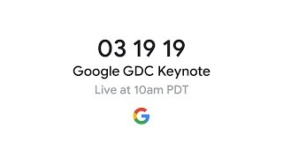 Download Stadia GDC 2019 Gaming Announcement Video