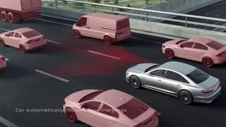 Download The Audi AI traffic jam pilot technology Video