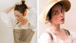 Download Getting dressed in the 18th century - working woman Video