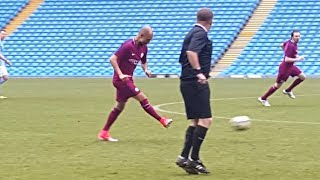 Download Pep Guardiola Makes Surprise Appearance In Manchester City Staff Game Video