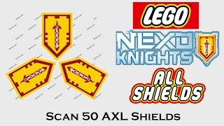Download Scan All Nexo Shields (5) - 50 AXL Shields Video