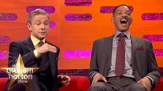 Download Martin Freeman Hates Getting Recognised at Urinals - The Graham Norton Show Video