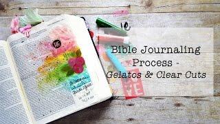 Download Bible Art Journaling Process - Gelatos & Clear Cuts Video