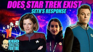 Download Does Star Trek Exist In The Orville Universe? - Seth MacFarlane Responds SDCC | TALKING THE ORVILLE Video