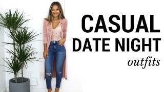 Download Casual Date Night Outfits + Lookbook | What to Wear to Date Night Video