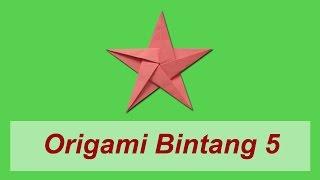 Download Cara Membuat Origami Bintang 5 (Non-Moduler) Video