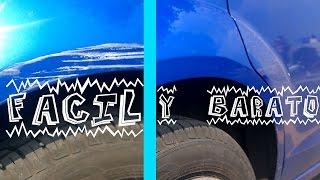 Download Cómo quitar los rayones del auto BARATO, FÁCIL Y RÁPIDO Video