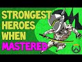 Download STRONGEST HEROES WHEN MASTERED! PART 1 - FIGHTERS! (Overwatch) Video