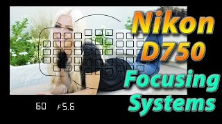 Download Nikon D750 Tutorial Training - Focusing Systems - How to Video