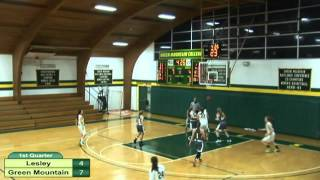 Download Lesley vs. Green Mountain Women's Basketball Video