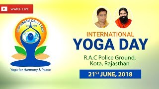 Download Watch Live! | 4th International Yoga Day | R.A.C Police Ground, Kota, Rajasthan | 21 June 2018 Video