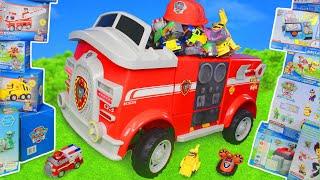 Download Pat' Patrouille jouets Mission de sauvetage de pompier de Marcus - Paw Patrol toys Video