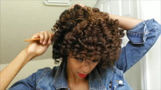 Download Super Defined Curly Fro & Color/4C Hair Video