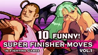 Download 10 ″FUNNY / WEIRD″ SUPER FINISHER MOVES in Fighting Games VOL.1 Video