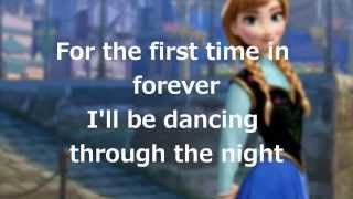 Download Lyrics: ″For the First Time in Forever″ (Disney's Frozen) Video