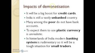 Download Analyzing Demonetization of Rs. 500 and Rs.1000 Notes in India , PM Modi Ban Currency Video