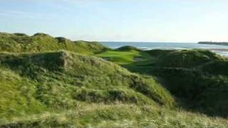 Download Lahinch Golf Club, Ireland Links Course - World Top 50 Golf Course by Alister MacKenzie Video