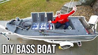 Download INSANE Jon Boat to Bass Boat Modification (Homemade) Video