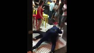 Download New Orleans Trooper body slams man Video