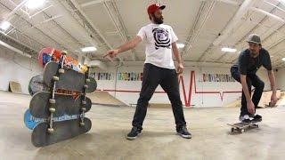 Download PROVE HOW HIGH YOU CAN OLLIE! / Warehouse Wednesday! Video