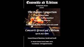 Download Geminiani - Concerto Grosso in C-Major (after Corelli Op. 5 No. 3) - I - Adagio Video