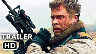 Download 12 STRΟNG Official Trailer (2018) Chris Hemsworth, Action Movie HD Video
