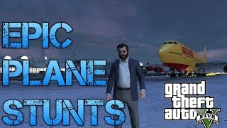 Download Grand Theft Auto V Challenges | THE BEST PLANE STUNTS I'VE EVER DONE!! Video