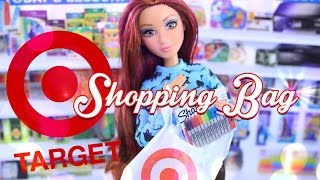 Download DIY - How to Make: Target Shopping Bags - Quick Craft - Doll Crafts - 4K Video