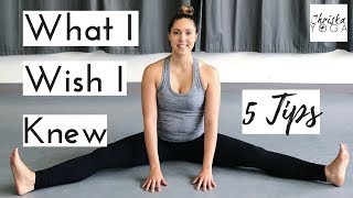 Download Advice for Yoga Beginners | 5 Yoga Tips for Beginners | Suggestions for How to Start Yoga Video