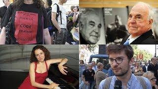 Download Regard sur l'actu #18 : gauche, UNEDIC, droit du travail, Kohl, itinéraires d'Humanité Video